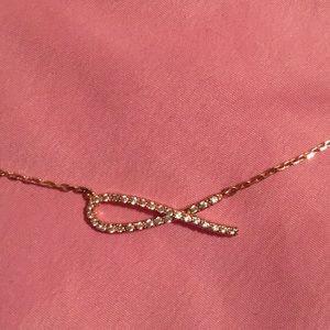 🌺 Rose gold Jesus fish (Ichthys) symbol necklace
